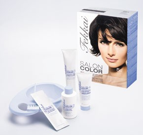 Frederic Fekkai's Salon Color at-home hair coloring kit.