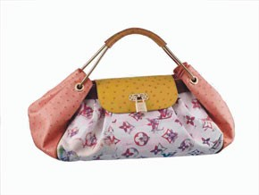 The limited edition Jamais bag.