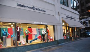 Lululemon only has this Lincoln Center store in New York, but is expanding into several other New York City locations this year.
