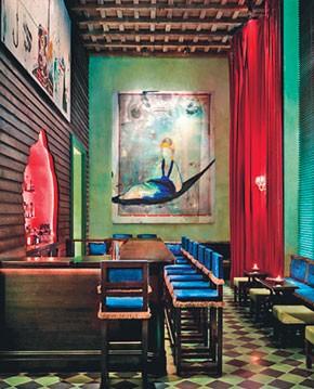 The Gramercy Park Hotel bar: A model magnet?