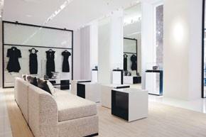 Inside Chanel on Robertson Boulevard.