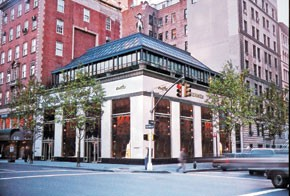 The Hermes flagship on Madison Avenue.