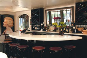 Cafe Chloe is a popular go-to neighborhood spot for East Village residents.
