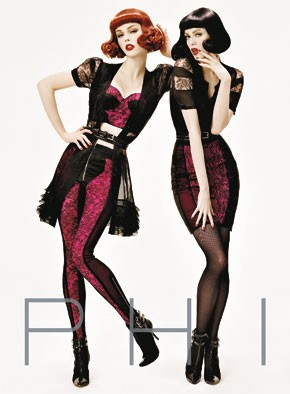 Phi is launching its Steven Meisel-shot ad campaign this fall.