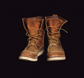J. Crew's Redwing boots.