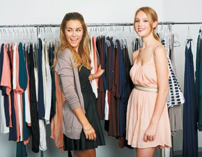 Lauren Conrad: an intern who dressed to impress.
