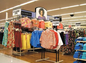 Wal-Mart once again led all stores as the most regularly shopped for casualwear.