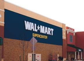 Wal-Mart is the nation's most frequently visited retailer as well as the largest in volume.