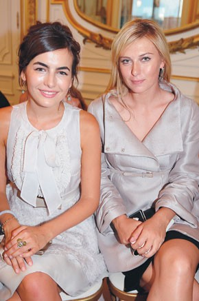 Camilla Belle and Maria Sharapova
