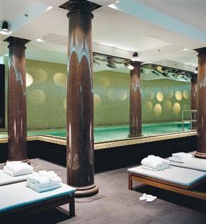 The Spa at Hotel de Rome.