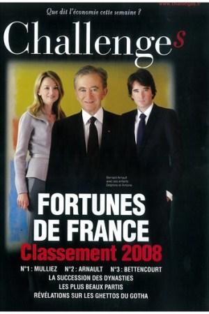 Delphine, Bernard and Antoine Arnault.