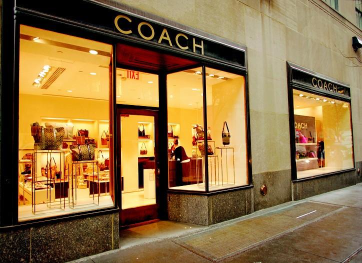 A Coach store.