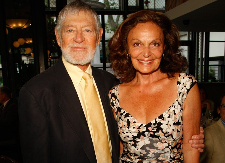 Art Ortenberg and Diane von Furstenberg.