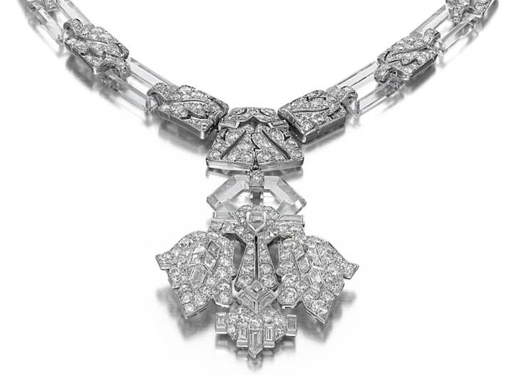 Siegelson's Art Deco necklace.