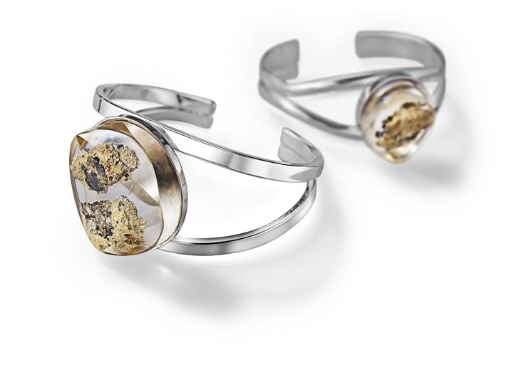 Bracelets from the Restoration Rocks collection.