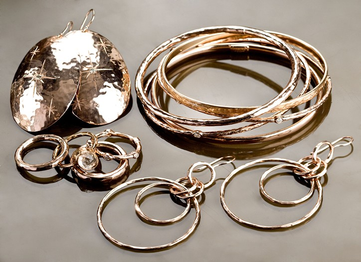 Pieces from Ippolita's Rose line.
