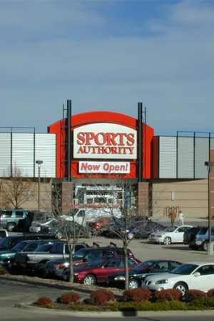 A Sports Authority store.