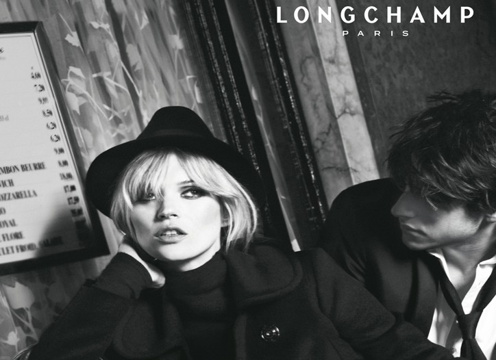 A still from Longchamp's fall ad campaign.