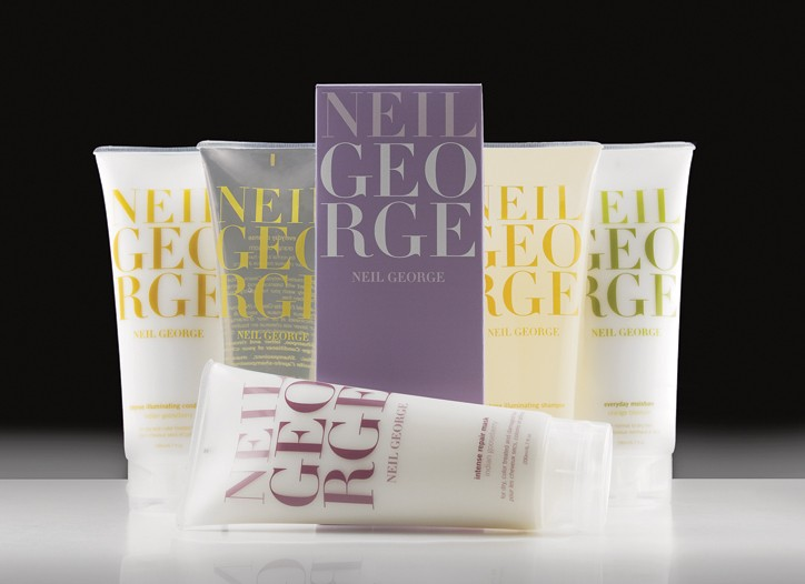 Select items from the Neil George hair care line.