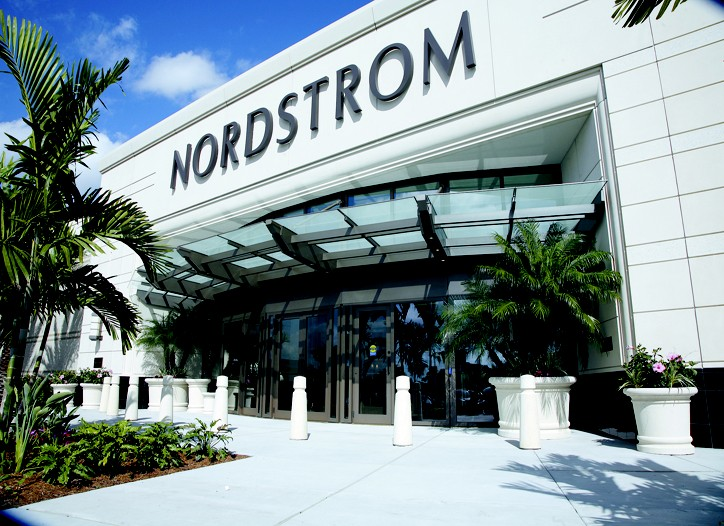 Nordstrom guided second-quarter earnings estimates down to at or below the low end of its previous range.