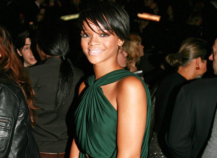 Rihanna at Gucci's UNICEF fund-raiser.