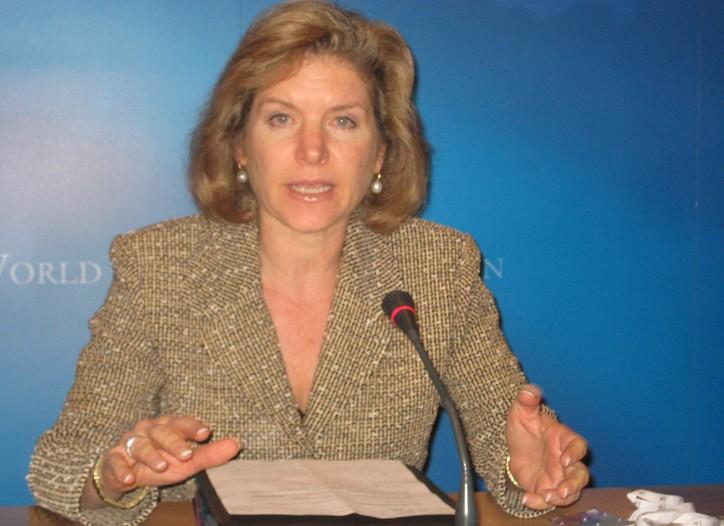 Susan Schwab in Geneva.