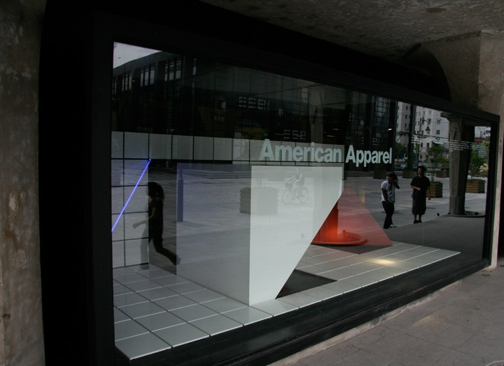 A new American Apparel unit in China.