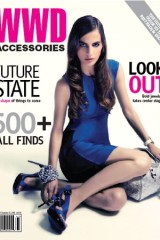 April 2008 cover of WWD Accessories