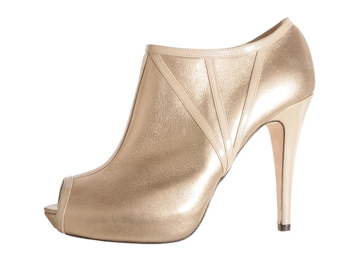 Badgley Mischka and shoe designer Claudia Ciuti are launching a  collection of bejeweled stilettos and metallic booties.