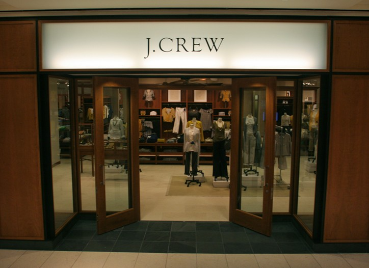 J. Crew at the Galleria Dallas.