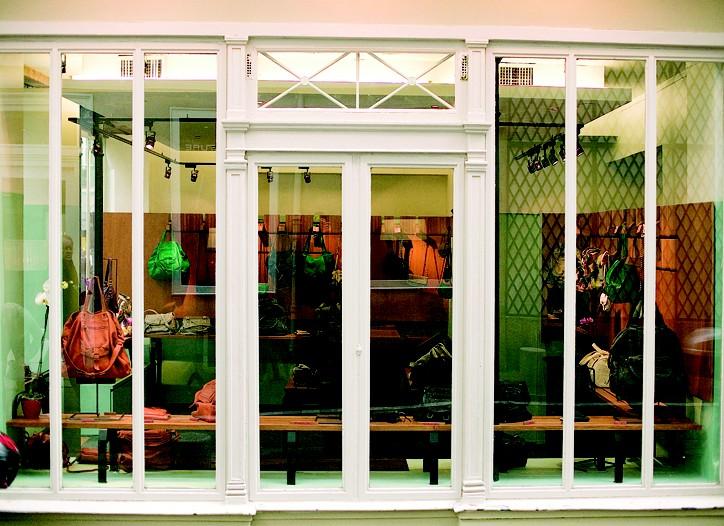 Jerome Dreyfuss new 400-square-foot Saint-Germain shop.