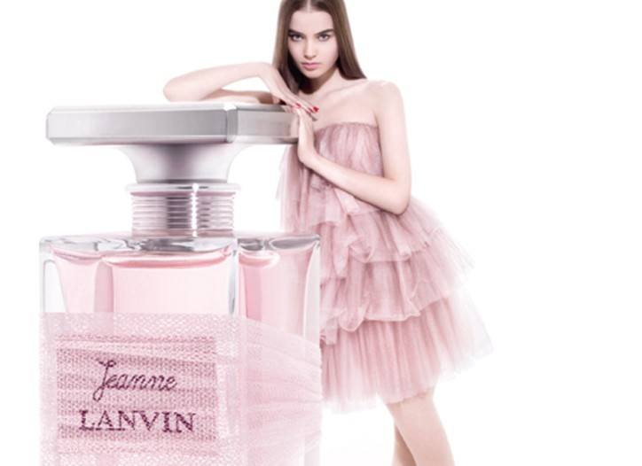 The ad for the new fragrance.
