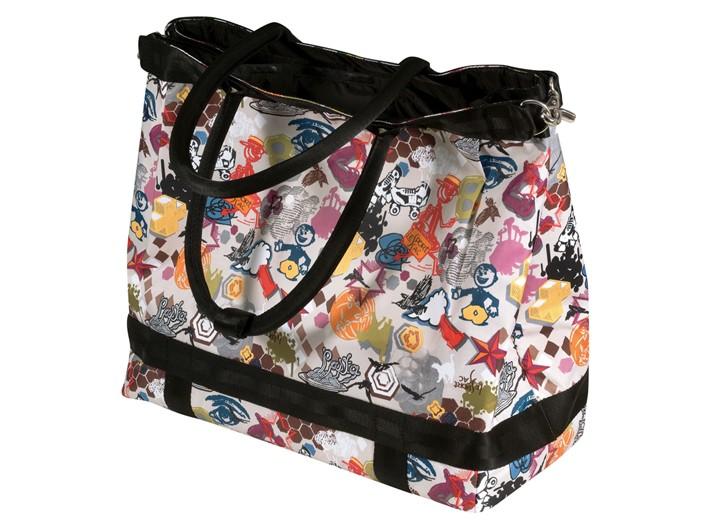 A LeSportsac bag.
