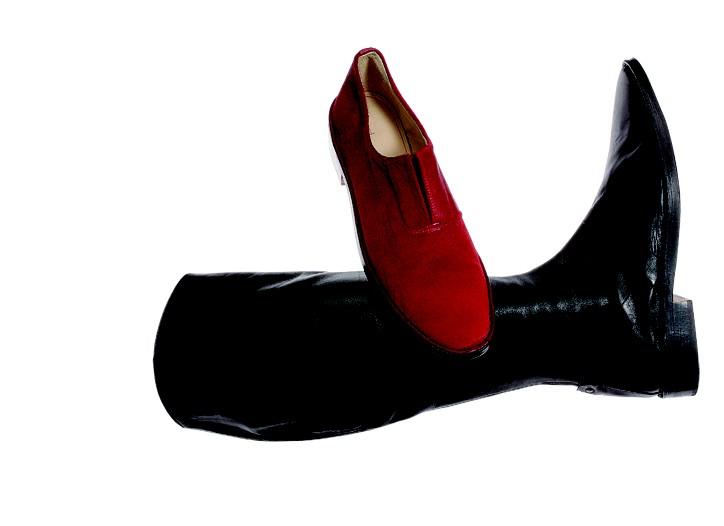 Designers Eileen Shields and Maria Cornejo new line of footwear.