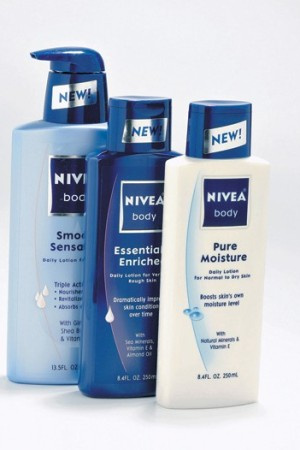 Nivea sales rose by 10.4 percent in the first six months.