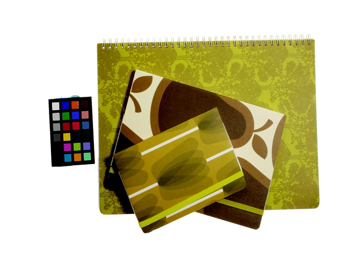 London?s Orla Kiely has brought the playful patterns and colorful brights of her fashion lines to the world of stationery. Her nature-inspired journals and note cards feature florals, trees and Kiely?s hallmark stem motifs.
