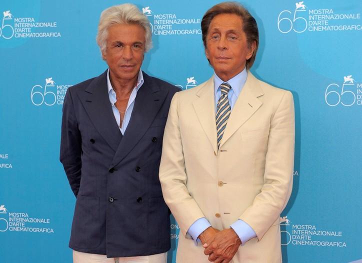 Giancarlo Giammetti and Valentino