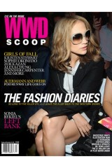 Cover of the October 2008 issue of WWD Scoop