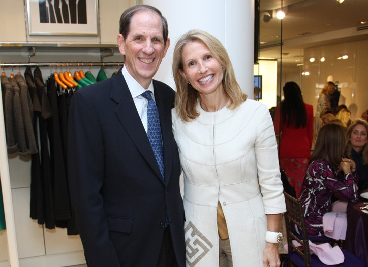 Michael Gould and Pam Michaelcheck