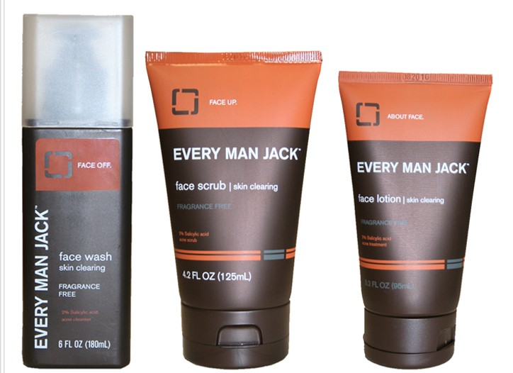 Every Man Jack's Skin Clearing collection.