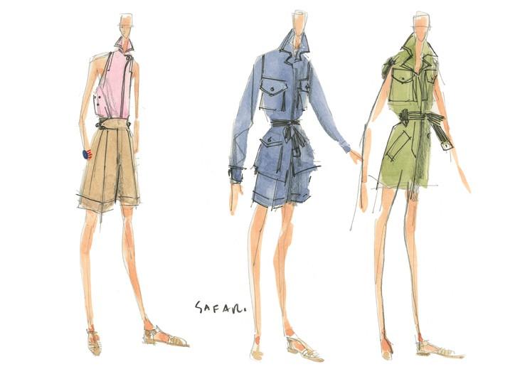 Isaac Mizrahi's debut collection for Liz Claiborne.