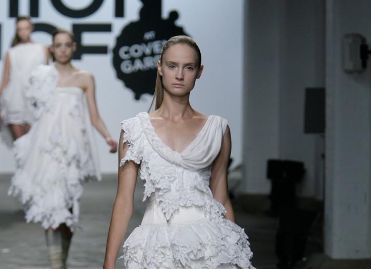 Fashion Fringe Go by a Secret Path RTW Spring 2009