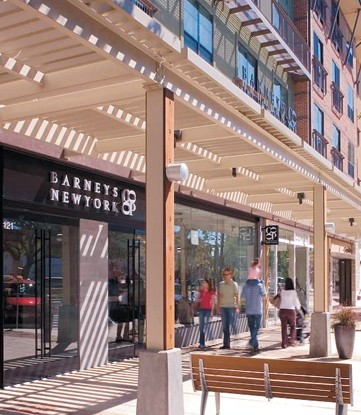 The Domain by Simon Property Group, an upscale, mixed-use shopping complex in Austin.