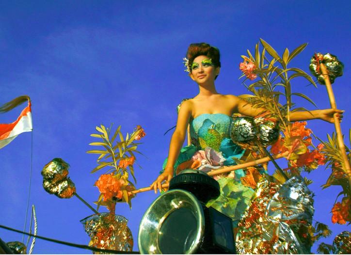 """Fashion Meets Nature"" was the theme at Bali Fashion Week 2008."