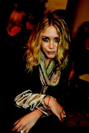 Mary-Kate Olsen at the Rock and Republic show.