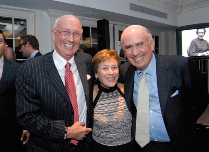 Bill, Linda and Jack Mitchell.