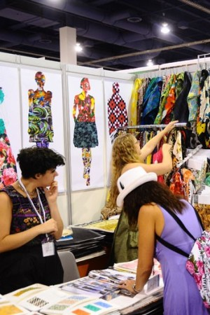 Designers looked for quality materials at better prices at sourcing shows in Las Vegas