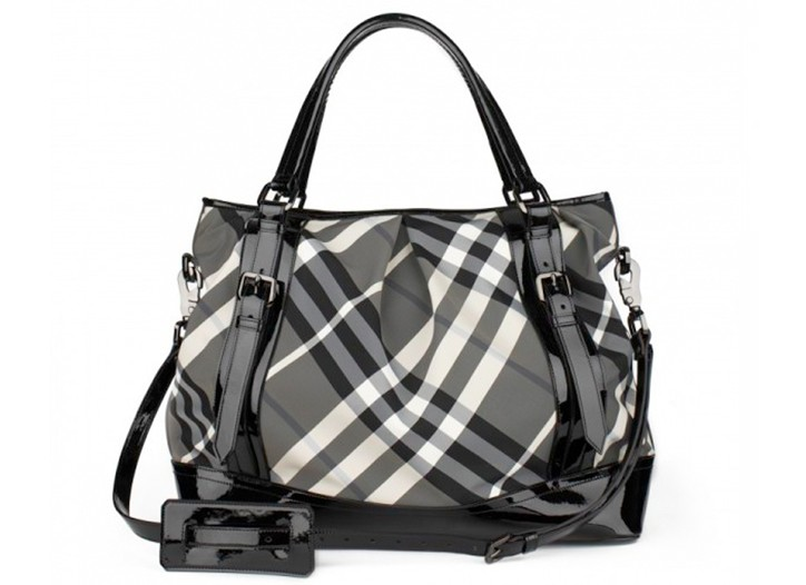The Lowry Bag in Burberry Capsule Black and White Check