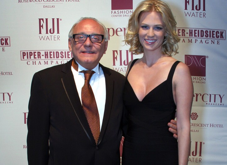 Max Azria and January Jones