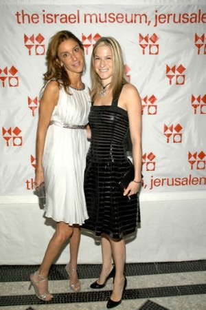 Dori Cooperman and Julie Macklowe at American Friends of the Israel Museum.